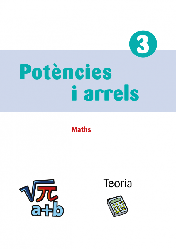 Maths secundaria teoría